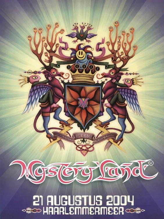 (2004) פוסטר של פסטיבל Mysteryland